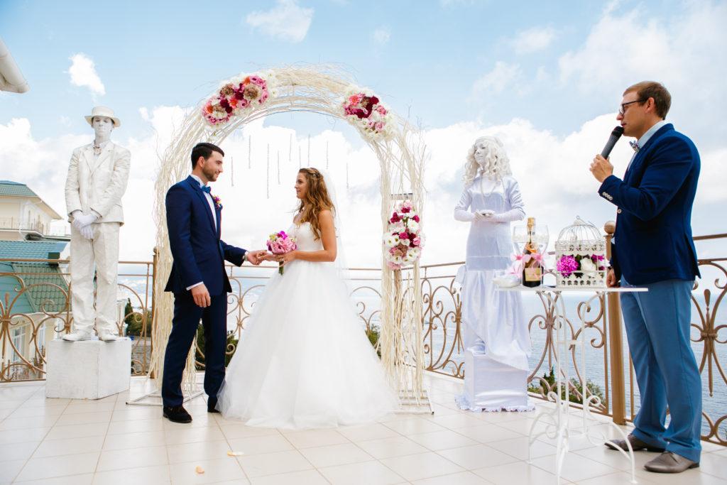 Ведущий на свадьбу в Крыму