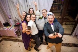 Свадебный банкет в Ялте