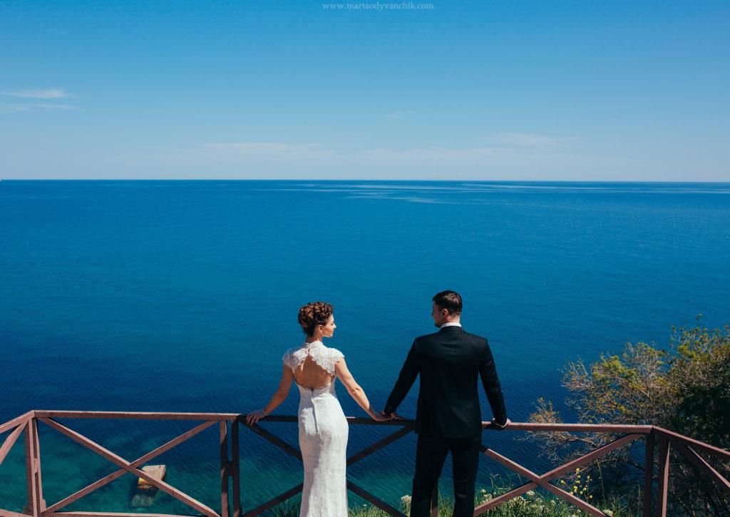 Свадьба на берегу моря в Крыму