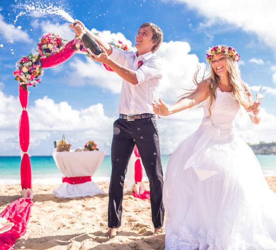 Ведущий свадьбы на море в Крыму