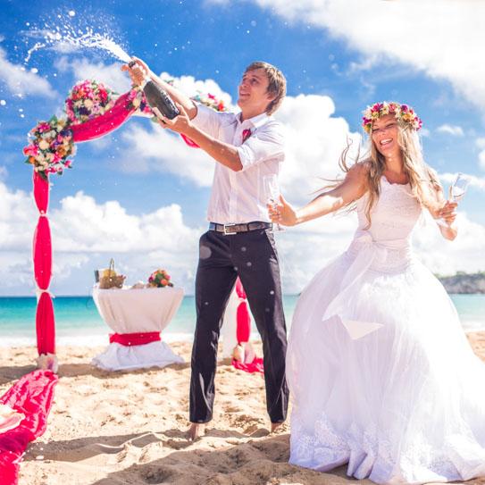 Свадьба на море с ведущим